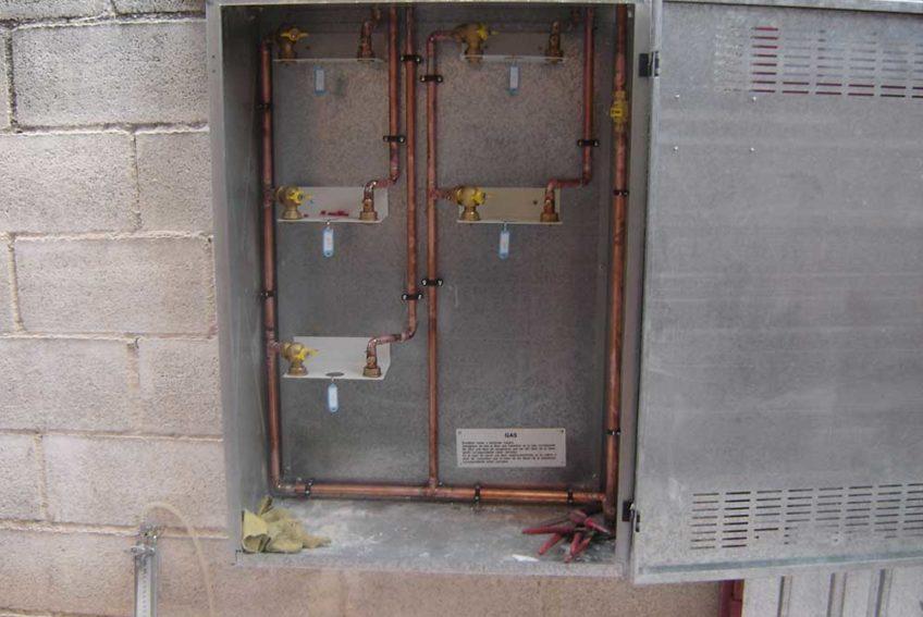 caja contadores gas