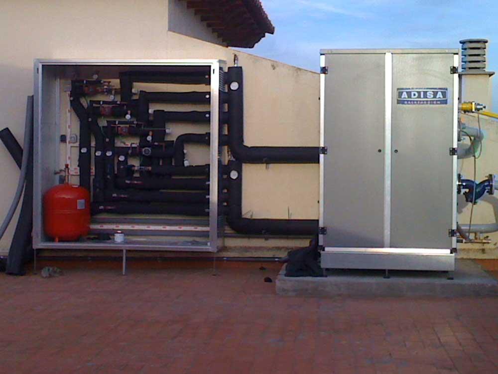 instalación calefacción y gas