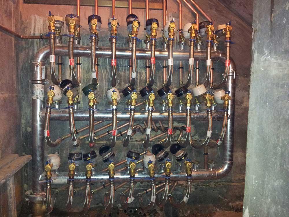 instalación contadores de agua