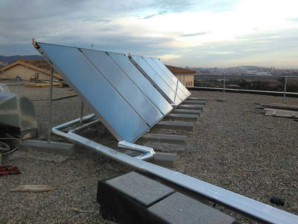 instalación placas solares residencia tercera edad